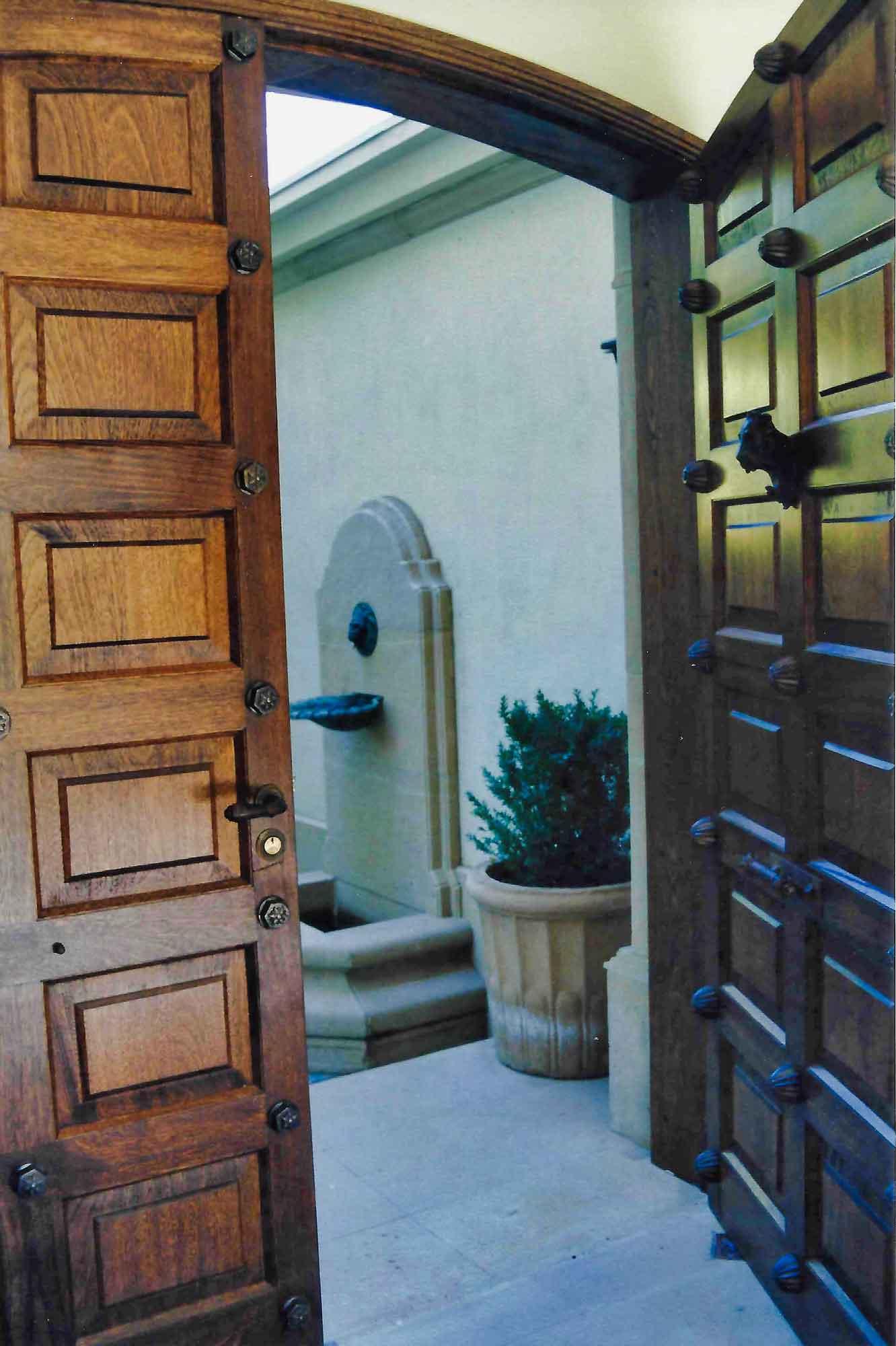 Puerta Roble Boliviano Atablerada