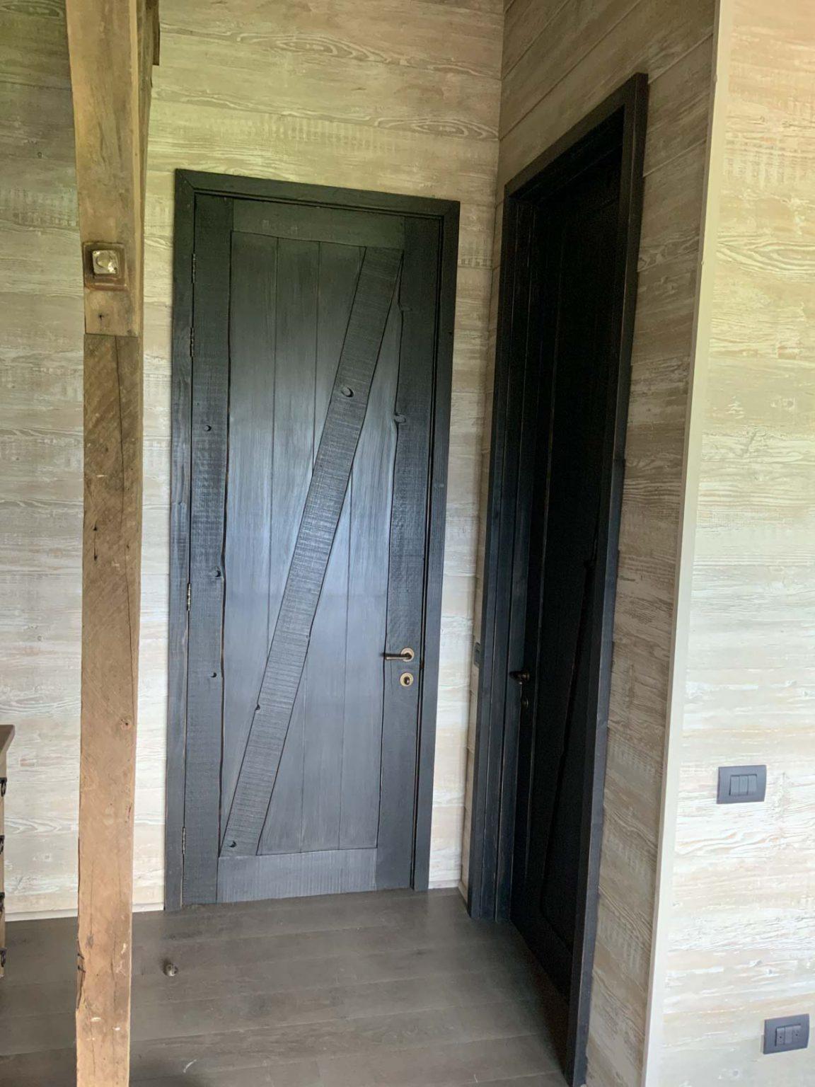 Puerta Dell Oro MDF 5.5 Enchapado Cipres